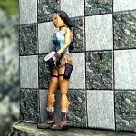 Minimodel von Lara aus Papier